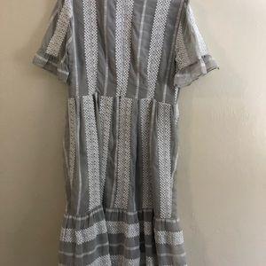 1387a832c55 Gianni Bini Dresses - Gianni Bini Eryn Crochet Stripe Midi Dress M